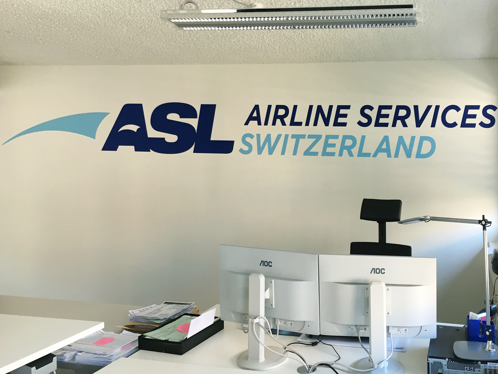 1600 x 1200 ASL airline services switzerland